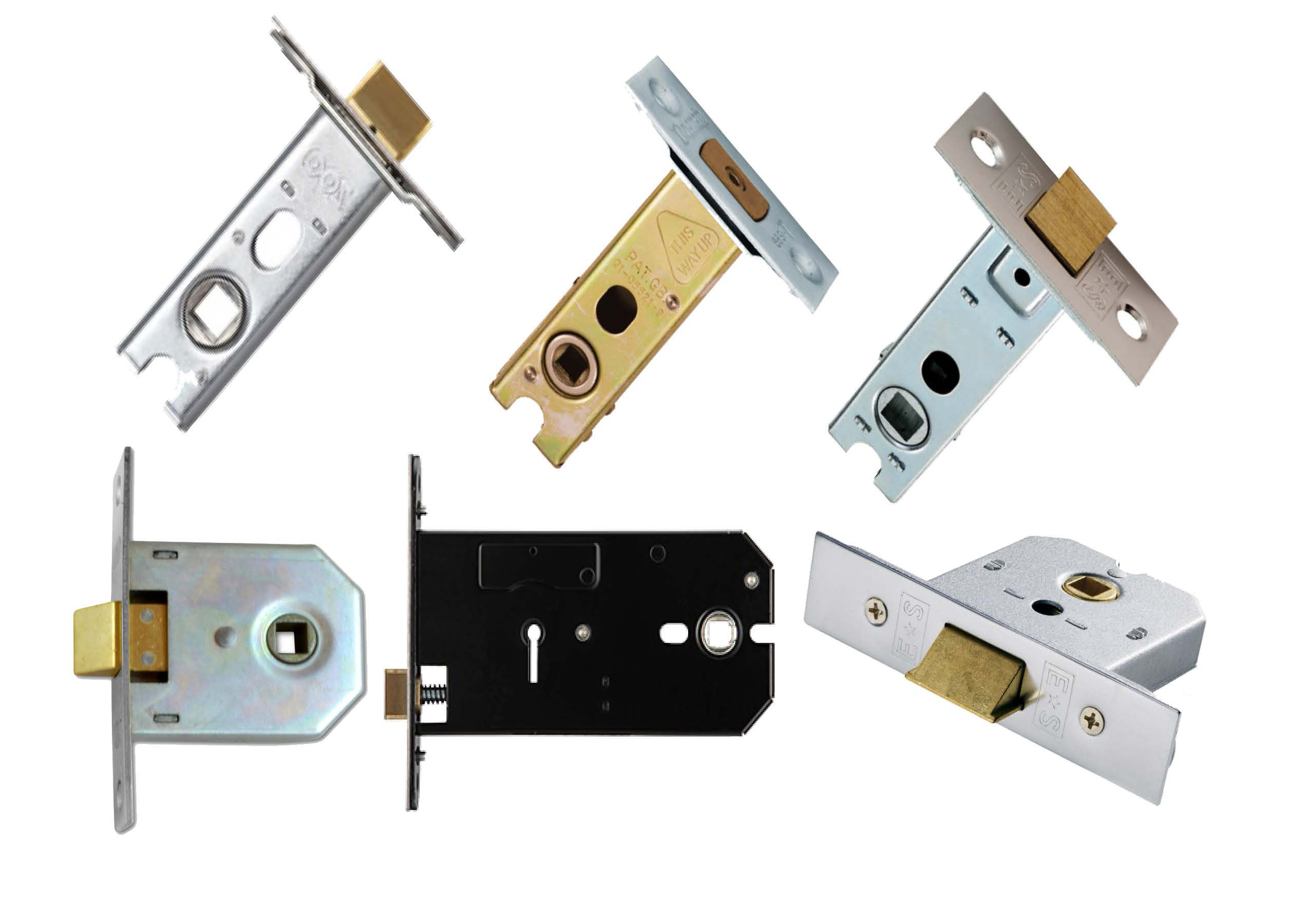 Mortice Latches, Tubular Latches & Deadbolts