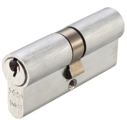 Zoo Hardware Vier 5,Pin Architectural Euro Double Cylinder