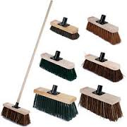 Brushes , Brooms & Mops