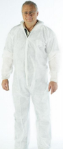 White Polyprop Coverall